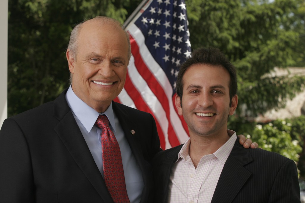 Reza Jahangiri and Fred Thompson